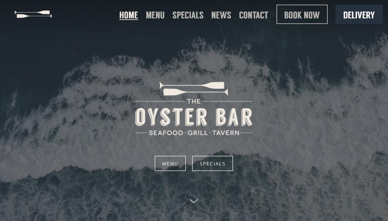 OYSTER BAR WEBSITE GETS A FACELIFT!