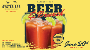 Beer and Brunch Father's Day Oyster Bar St. Pete