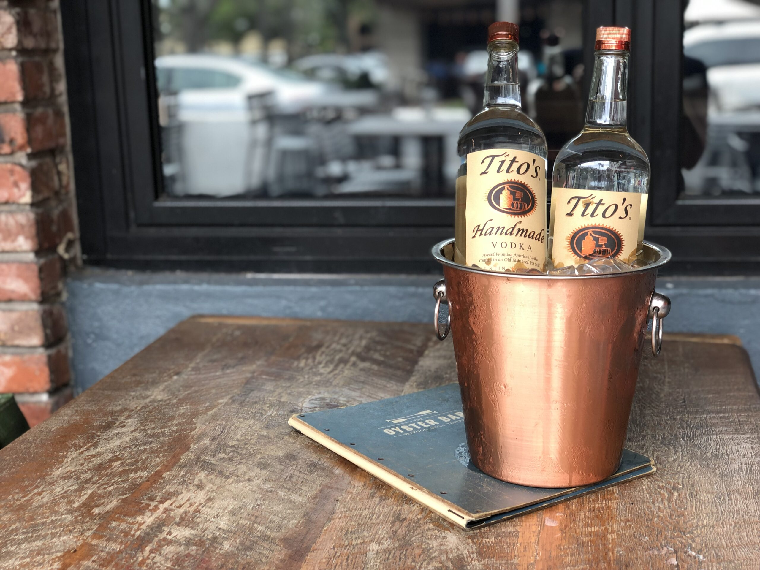 NEW TUESDAY OYSTER BAR DRINK SPECIAL: $5 TITO'S VODKA
